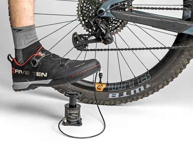 Stompump: A Handy Bicycle Foot Pump