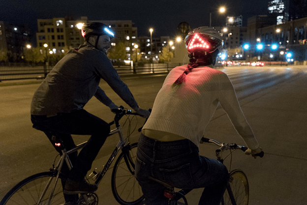 IOS Gets Control over the Lumous Bicycle Helmet 2