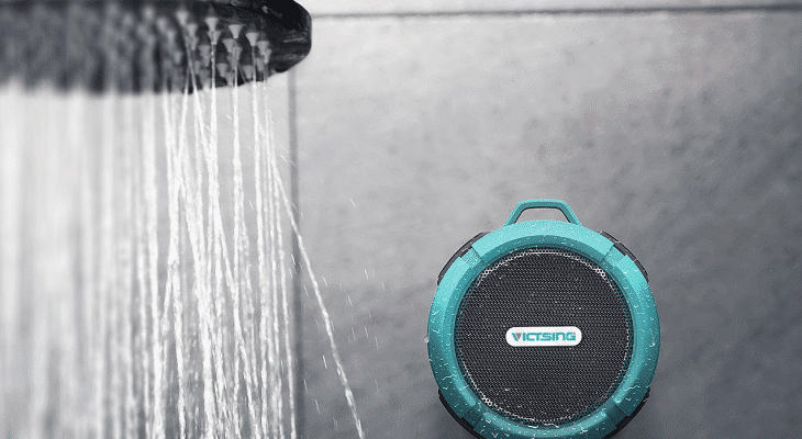 VicTsing Wireless Shower Speaker Perfect Gift 4