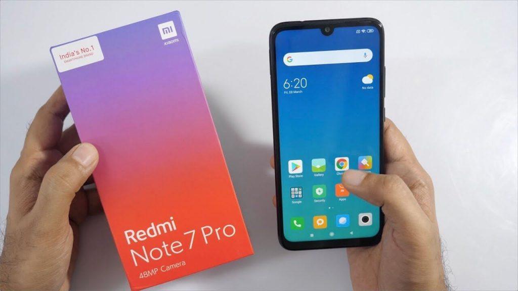 New Smartphone Launch - Redmi Note 7 Pro 2
