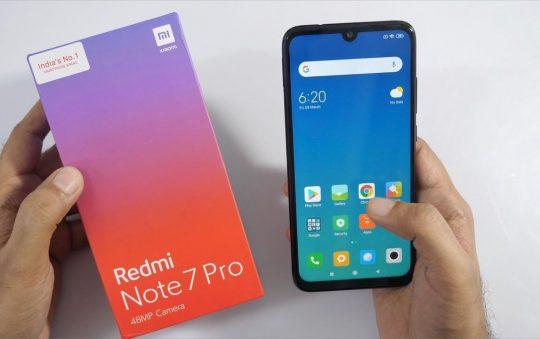 New Smartphone Launch – Redmi Note 7 Pro