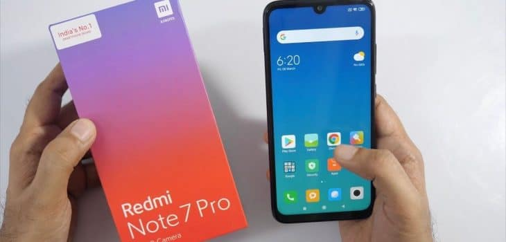 New Smartphone Launch - Redmi Note 7 Pro 2