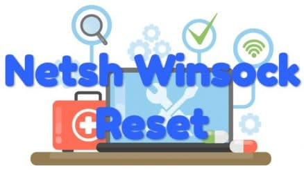 what does netsh winsock reset do
